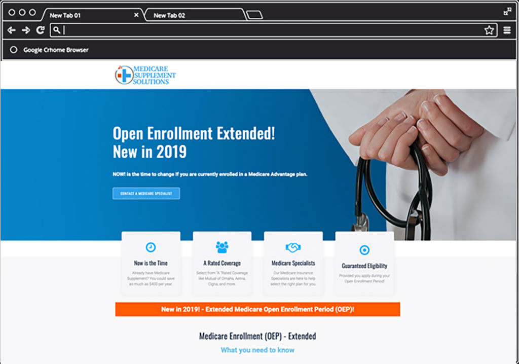 Medicare Supplement Portfolio Home Page