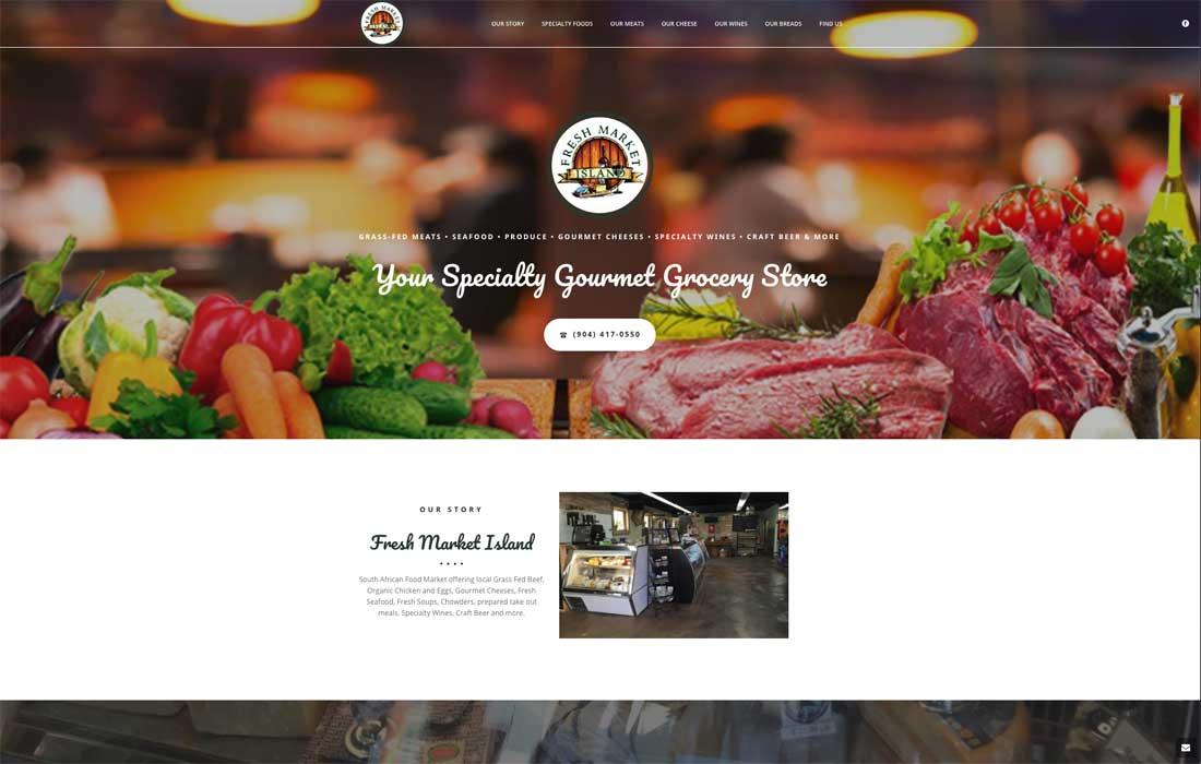 Fresh Market Island Home Page Image