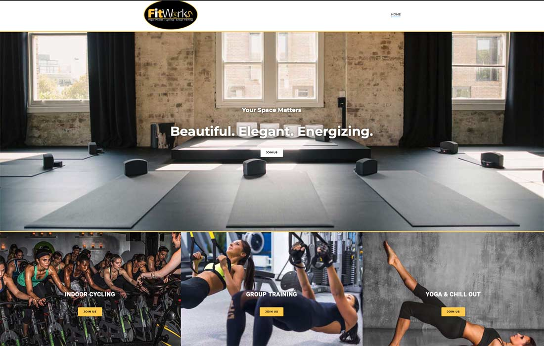 Fitworks Rx Portfolio Home